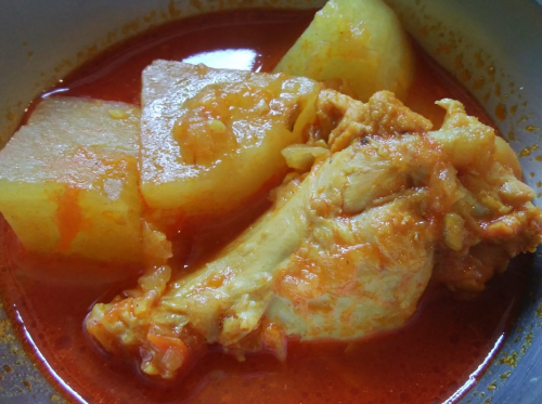 Chicken_radish_curry